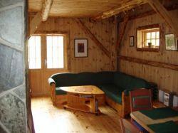 Wohnzimmer, Ferienhaus Sjohageløo, Norwegen