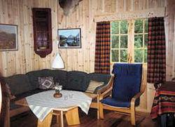 Schönes Wohnzimmer in dieser Hütte