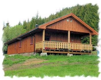 Ein neues Ferienhaus in Süd Norwegen
